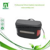 36 Batterij van de Fiets van het Polymeer van het Lithium van de Zetel van de volt 8.8ah de Post Opgezette