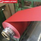 A exportação de PPGI à superfície da camurça de Rússia Prepainted a bobina de aço galvanizada