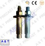 ステンレス鋼の合せ釘ピンを機械で造る高く精密なCNC
