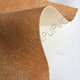 Materiale all'ingrosso del cuoio del Faux della mascherina di calzatura con il reticolo di modo