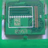プラスチックは商標のロゴの二酸化炭素レーザーの彫版のマーキング機械にボタンをかける