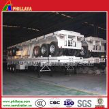 昇進のための半20FT-40FTの骨組フレームの容器のトレーラー