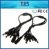 adaptador de la C.C. de la CA de 12V 5A con el cable de la C.C. 8