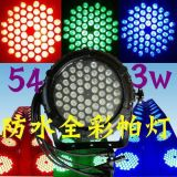 12PCS/54 X 3W RGBW는 클럽 당 램프 디스코 음악 빛을%s 동위 빛 램프를 방수 처리한다
