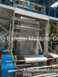 Tres capas de la coextrusión de la máquina que sopla de la película con el sistema de IBC