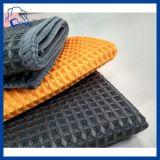 Auto die de Handdoek van de Wafel schoonmaakt Microfiber (QHESF00911)