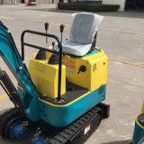 Excavatrice de la chenille 800kg approuvée de la CE mini pour la ferme