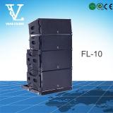 FL-10 linha altofalante ao ar livre altofalante do dobro 2-Way profissional 10 do '' da disposição