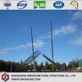 Stahlkonstruktion-giebeliger Rahmen verschüttete mit Dach-Isolierung