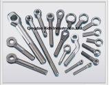 Pieza de aluminio de la forja de la forja auto de la pieza/pieza de aluminio de la forja/de automóvil/biela de aluminio forjada caliente