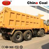 Explotación minera HOWO 70 toneladas de carro de vaciado