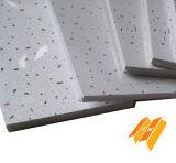 고품질 청각적인 무기물 섬유 장식적인 무기물 섬유 천장 (SGS, ISO 12mm)