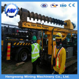 Hengwang地上アンカーのための地上ねじ抗打ち工事機械螺線形のドリル