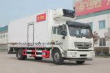 中国Sinotrukのブランドによって冷やされている冷却のトラック