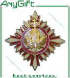 Embouti avec l'insigne mol de Pin en métal d'émail avec le logo adapté aux besoins du client