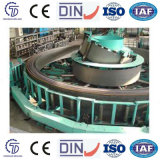 Tubo galvanizado acero automático fácil de la operación que forma la máquina