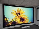 CH150 ha curvato lo schermo di proiezione del blocco per grafici fisso del supporto della parete