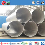 Pipe d'acier inoxydable d'ASTM A312/A358 /A778 pour le transport liquide