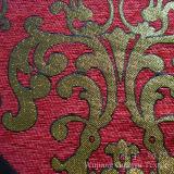 Chenille 100% teint décoratif de fils de polyesters de tissu pour la maison