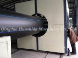 Linha contínua da extrusão da tubulação da parede do HDPE plástico da extrusora (identificação 1200mm)
