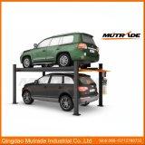 Sistema de armazenamento de carro deslizante e deslizante de carroçaria hidráulica