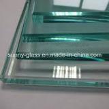 3mm-19mm lisos/dobrou vidro Tempered com o certificado 3c/CE/ISO