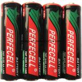 Batteria a secco resistente eccellente di formato 1.5V di R6p /Um-3 /AA