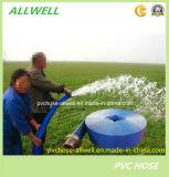 Mangueira agricultural flexível colorida da tubulação da irrigação da água do PVC Layflat