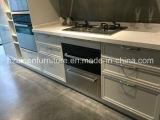 Muebles lineares elegantes de la cocina del estilo de la cabina de cocina de la laca