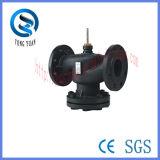 Válvula de zona / 2 Puertos control de válvula / brida de la válvula usada en HVAC (VD2615-100)