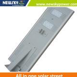 luz solar integrada del sensor de la calle de 8W LED con teledirigido para el jardín