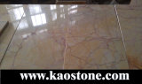 흐린 Cream Marble, Floor/Wall를 위한 중국 Beige Marble Tile