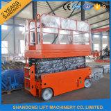 Fabrik-Zubehör-hydraulische bewegliche elektrische China-Shandong Scissor Aufzug