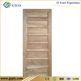 Porte 100% en bois solide de pin de nature