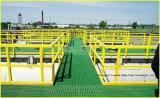 Rejilla FRP / GRP de la alta calidad FRP Carwash Grating, plataformas de la calzada