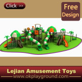 Crianças Wonderful Castle Plastic Outdoor Playground (12097A)