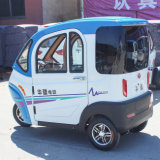 Tre sedi hanno chiuso un'automobile elettrica delle tre rotelle