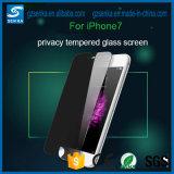 2.5D iPhoneのための0.3mm曲げられた端のプライバシー緩和されたガラス6 Plus/6sと
