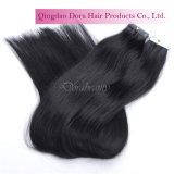 Оптовая индийская лента PU таможни человеческих волос Remy в выдвижении волос