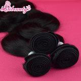 Unprocessed бразильское выдвижение 100% человеческих волос девственницы волос Remy объемной волны 9A