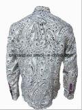 Camisa impresa colorida S1365 de los hombres