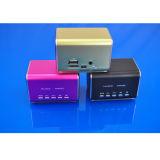 Altavoz estéreo del USB Rechargable Digital del ángel de la música mini con la luz del LED (STD-MA9)