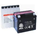 セリウムUL証明書によって呼出されるYTX5L-BSとの健康な開始パフォーマンスの満たされたオートバイ電池12V 5AHを乾燥しなさい