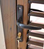 Porte en aluminium d'auvent avec les obturateurs réglables (BHA-DC01)