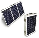 캐라반으로 야영을%s 휴대용 태양 에너지 시스템 120W