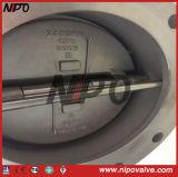 Двойник служил фланцем тип двойной задерживающий клапан качания диска