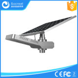 40W 5 ans de garantie, un type neuf de réverbère solaire Integrated