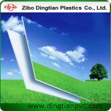 Feuille blanche de mousse de PVC pour le matériau d'étalage de signe extérieur
