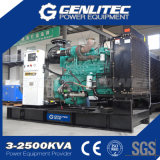 Potencia standby 125kVA Diesel grupo electrógeno con motor Cummins