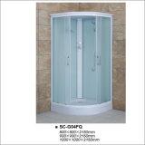 緩和されたファブリックガラスが付いている引き戸のシャワーの家